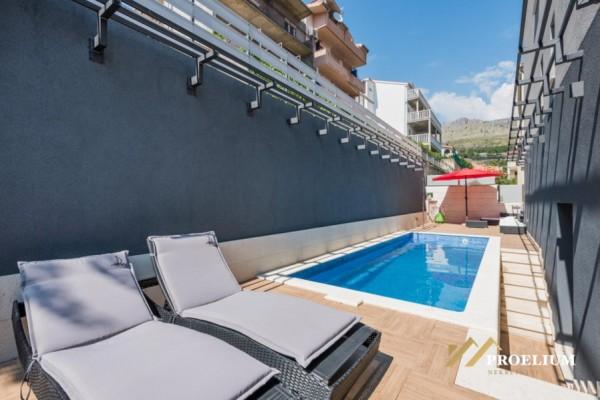 Luksuzni penthouse sa apartmanima, Split, 600m2. 500m do mora